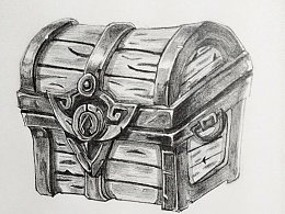 手绘-宝箱
