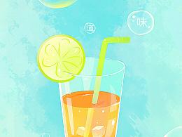 一杯夏天的味道~~