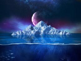 拼图练习--冰山