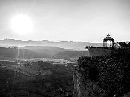 Spain black&white