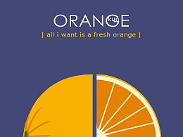 一组水果海报