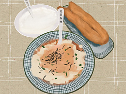 插画-食物