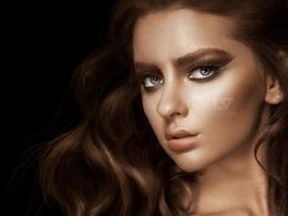 妆容发型修图案例