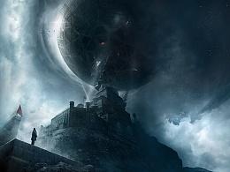 《三体》电影首款概念海报