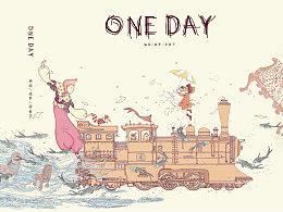 故事绘本《ONE DAY》
