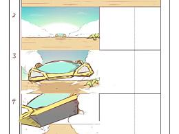 分镜及色彩练习,可能会做到原创动画里去