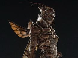 末那原创手办丨insect hunter第一弹《螽》铁蝈蝈配色版