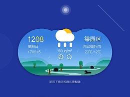 天气预报手机插件