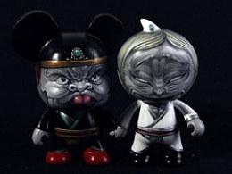 淘公仔&TOY2R2012--黑白无常