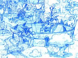 游戏前期线稿设计