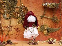 蒸汽朋克Lolita裙店铺橱窗|模型