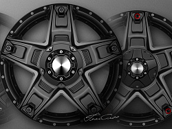 汽車輪毂設計 - Sketch Render