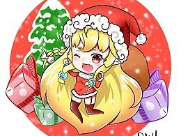 圣诞小插画