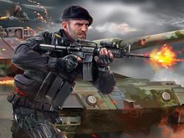 《敢死队3》三张绘画海报