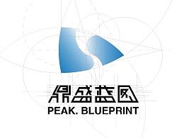 鼎盛蓝图(北京)文化传媒有限公司logo设计