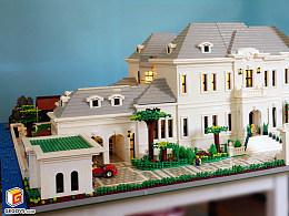 【GegoVs】国内最大的单体乐高别墅-花园大别墅