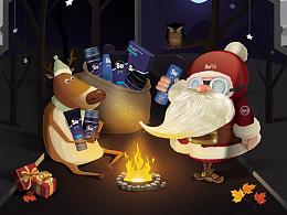 【素派】圣诞节首页(AI手绘完成)