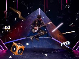 腾讯livemusic明星宣传片