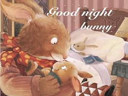 晚安小兔子