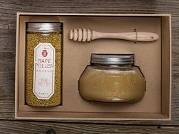 甜蜜旅行家系列蜂蜜包装设计