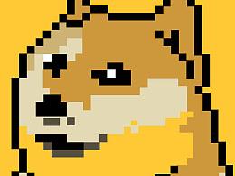 像素doge