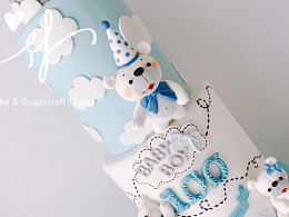 翻糖蛋糕宝宝宴