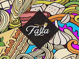 Fasta Singapore restaurant branding