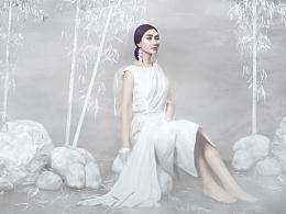 为服装设计师拍摄的一组作品