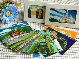 《漫游版纳》系列旅游纪念明信片