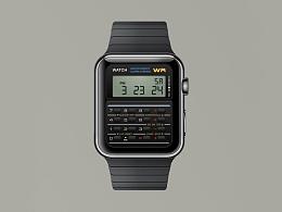 Apple Watch&计算器界面
