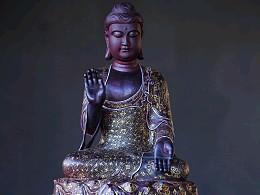 紫檀制,释迦牟尼佛