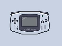 临摹-扁平游戏机