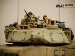 1:35m1a2坦克模型