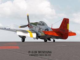 红色机尾 Red Tails   332大队涂装p-51d 北美野马