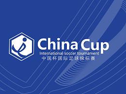 """""""中国杯""""国际足球锦标赛logo"""