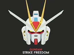 Day39-每日设计Freedom Strike Design 强袭自由高达