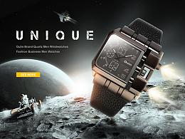 外星人才会用的手表吧...