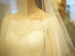 这件婚纱全世界只有一件
