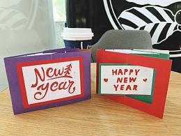 【立体贺卡】新年立体贺卡