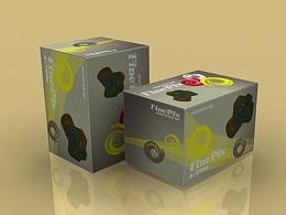 3D包装贴图练习(2009年作)