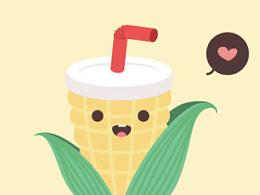 小玉米~玉米神←_← Corn God!~