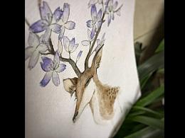 春暖花开时-水彩小练习