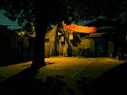 北京胡同——安静的夜晚,躁动的白天。