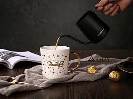 杯子拍摄 马克杯 陶瓷杯摄影