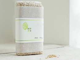 一款大米产品的三个logo设计