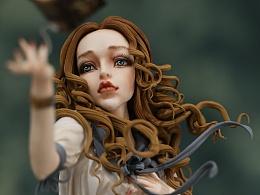 翻糖人偶作品——魔法少女