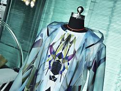 LASOMBRA高级定制进口时装大牌TPU材质,独家印花个性雨衣、风衣