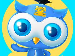 猫头鹰卡通形象设计