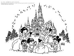 蒙牛乳业·上海迪士尼主题插图