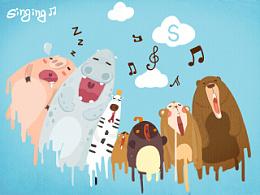 #早安#《动物合唱团》~by海牙Hiya